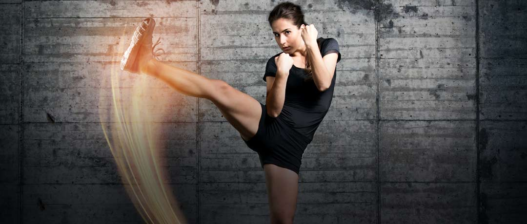 All in One!! Fitness, self-defense, girls' must-learn tricks!