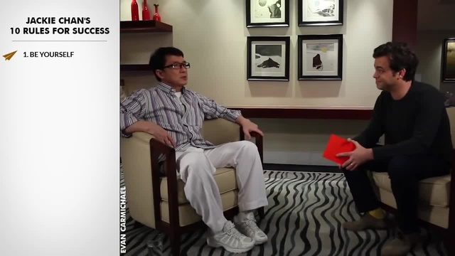 Jackie Chan's Top 10 Rules For Success