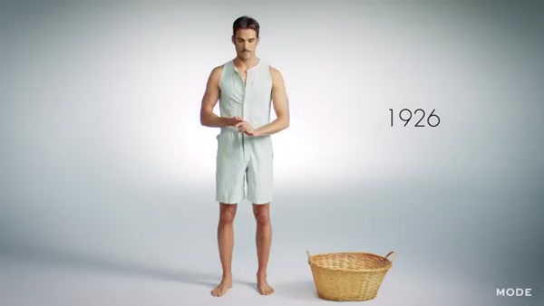 100 Years of Fashion: Men's Underwear