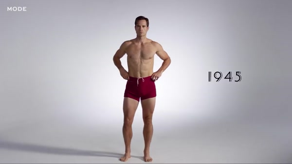 100 Years of Fashion: Men's Swimwear